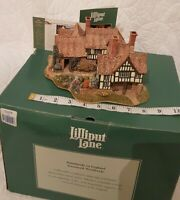 Lilliput Lane - THE ALMONRY 1996 #Rare Vintage Collectible Mint Brand New BNIB