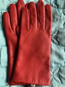 Handschuhe Damen Leder
