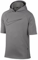SZ L RARE!! Nike Men's CITY Short Sleeve SS Running Hoodie Shirt 845538-003 $90
