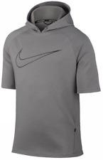 SZ XL RARE!! Nike Men's CITY Short Sleeve SS Running Hoodie Shirt 845538-003 $90