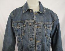 Eddie Bauer Denim Jacket Sz 14 Sz 16 Long Sleeve Classic Jean Jacket