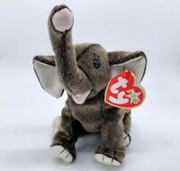 1 TY Beanie Baby - TRUMPET the Elephant (10 inch) -New best Seller Free Shipping