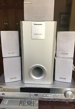 Panasonic SC-HT67 DVD  Home Theater Sound System. Used.