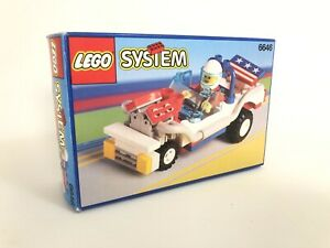 Lego System Classic Town Screaming Patriot 6646 (1991) Pre-Owned