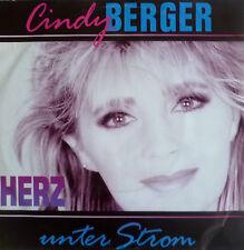 "7"" 1992 kultin mint -! Cindy Berger: cuore sotto elettricità"