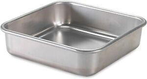 Nordic Ware Natural Aluminum Commercial Square Cake Pan (45800)