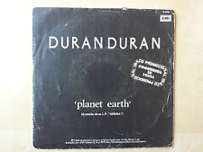 "DURAN DURAN ""PLANET EARTH"" / UNION OF THE SNAKE"" RARE SPANISH PROMO 7"" VINYL"
