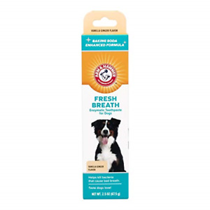 Arm & Hammer Dog Dental Care Fresh Breath Enzymatic Toothpaste for Dogs | No |