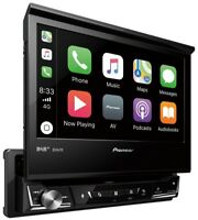 "Pioneer AVH-Z7100DAB 1-DIN AUtoradio Touch Screen 7"" AppleCar und AndroidAuto"