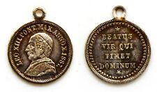 Medaglia Papale Leone XIII Pont. Max. Anno X 1887 - Beatus Vir Qui Timet Dominum