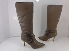 Women's CARLOS by Carlos Santana Crusoe Knee High Boots Taupe Size 6.5 M