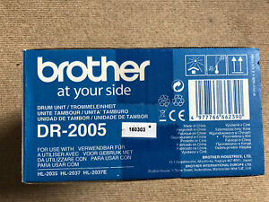 Brother DR-2005 drum unit (new Sealed Box)