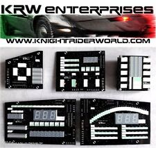1982-92 PONTIAC FIREBIRD KNIGHT RIDER KITT 1TV DASH ELECTRONICS COMPLETE NEW IG
