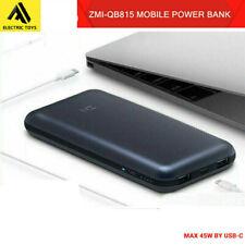 Xiaomi ZMI 15000mAh 45W PD USB-C Power Bank Dual USB Port Powerbank laptop charg