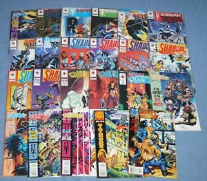 SHADOWMAN # 0, # 1- 42 & YEARBOOK # 1, VALIANT,  HI GRADE LOT- AWESOME BOOKS
