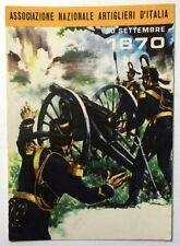 Cartolina Associazione Nazionale Artiglieri D'Italia 20 Settembre 1870
