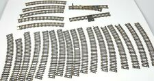 HO Atlas Curved and mixed Track Lot train 24 pieces in all