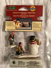 Lemax Village Collection, Frosty's Friendly Greeting - New