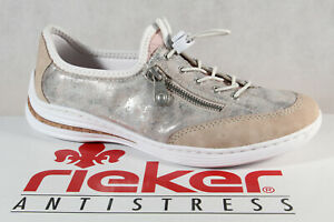 Rieker Slippers Sneakers Low Shoes Trainers Rose M3569 New