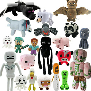 Minecraft Plush Toy Creeper Stuffed Animal Soft Plush Kids Birthday Gift