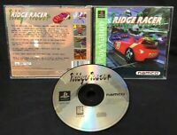 Ridge Racer Racing Playstation 1 2 PS1 PS2 Game Works! Tested Near Mint Disc
