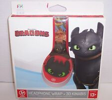 New! Fuhu nabi Headphone Wrap and KINABIs, How to Train Your Dragon  {3094}