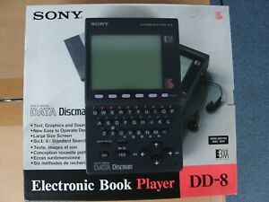 Sony DD-8 Electronic Book Player Vintage