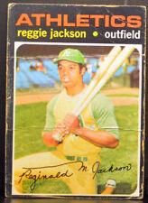 1971 Topps #20 REGGIE JACKSON Oakland A's FR-GD