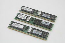 LOT OF 3 HP 261585-041 1GB DDR 266 CL2.5 ECC PC2100R-25331-Z MEMORY