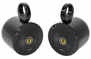 "Pair Kicker 6.5"" CSC Rollbar Rollcage Speakers For Polaris/JEEP/ATV/UTV/RZR/CART"