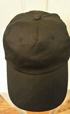 HIT WEAR Baseball Hat StrapBack Black Cap 1-Size