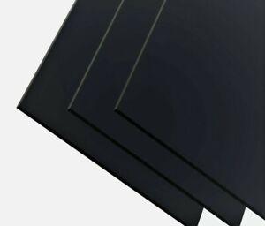 ABS Kunststoff Platte 200×300 mm 4mm  schwarz GENARBT TOP QUALITÄT