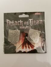 Attack On Titans Set of 2 Pins