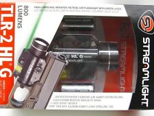 STREAMLIGHT Gun Rail Mounted TLR-2 HL G 800 Lumen LED Flashlight w/ GREEN Laser!