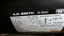 A.O. SMITH GENERAL PURPOSE FAN  MOTOR CP1202M MODEL# 327686