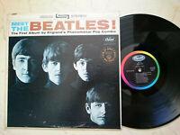 The Beatles Meet the Original US Rainbow Capitol Stereo LP St 8-2047