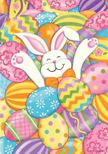 Bunny Eggs - Double Sided 12 X 18 INCH Garden Flag FM1912 - Spring/Easter