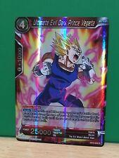 Ultimate Evil Dark Prince Vegeta BT2-009 R Dragon Ball Super TCG NM