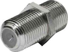 10 Stück Sat Verbinder Kuplung Verbindung incl. Muttern F-Buchse auf F-Buchse