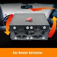Car Truck Fan Heater Defroster Demister Heating Warmer Windscreen 12V 500W UK