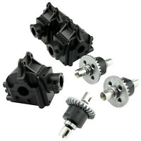 Metal Differential Gear + Gearbox Shell for 1/14 WLtoys 144001 4WD RC Car