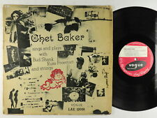 Chet Baker - Sings And Plays LP - Vogue UK - LAE 12018 Mono DG