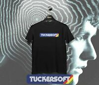 Black Mirror Bandersnatch Tuckersoft Retro Video Gamer T-shirt