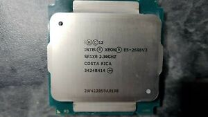 Intel Xeon E5-2698v3 E5 2698 v3 16x 2,3 GHz SR1XE 16 Core LGA2011-3 Turbo 3,6GHZ