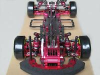 Alloy & Carbon SAKURA D3 CS 1/10 4WD Drift Racing Car Frame Body & Front one Way