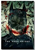504 The Dark Knight Rises Return Joker Movie TDK Movie 2012 Cat Poster Print
