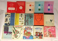 Lot of 15 Vintage Children's Piano Music instructional / Lesson / song books
