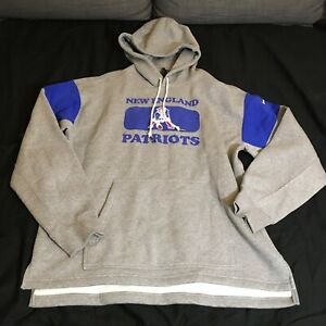 Nike New England Patriots Pullover Hoodie Sweater Size Medium