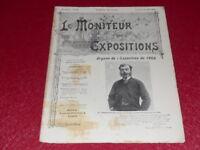 [REVUE EXPOSITION UNIVERSELLE 1900] LE MONITEUR DE 1900 N° 53 #  MAI 1899