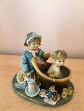 PLAYING MOTHER figurine by Christine Haworth Leonardo Collection
